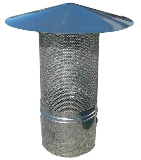 Vonkenvanger van gaas 120 mm