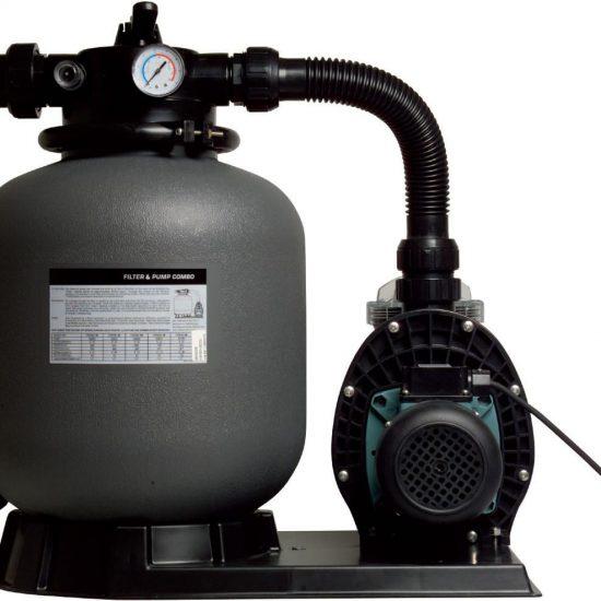 Grijze zandfilterpomp tot 10.000 liter