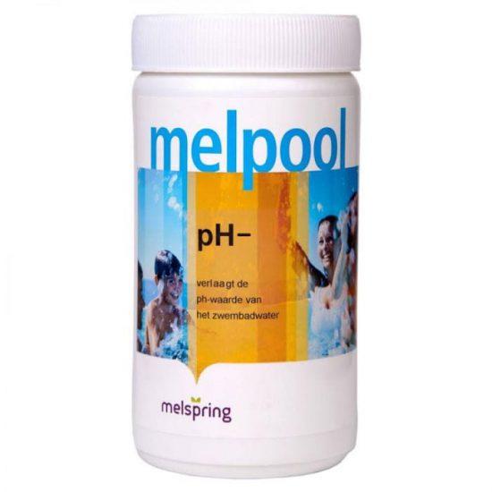 Melpool PH-poeder voor schoon water