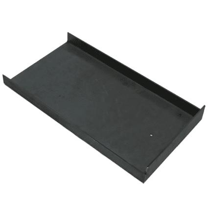 Plafondplaat voor de kachel