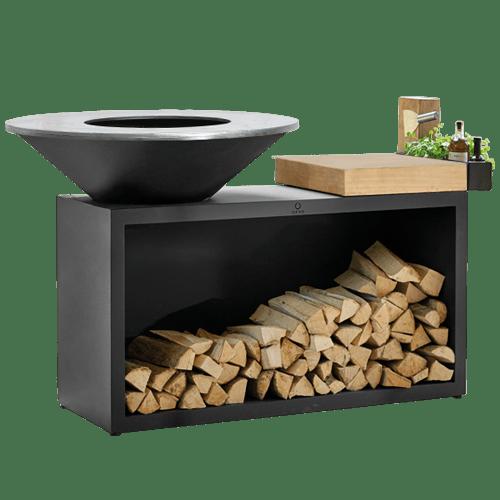 Ofyr BBQ: houtopslag, een vuurschaal en specerijen