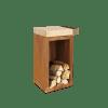 Ofyr hakblok van hout 45/45/88 centimeter