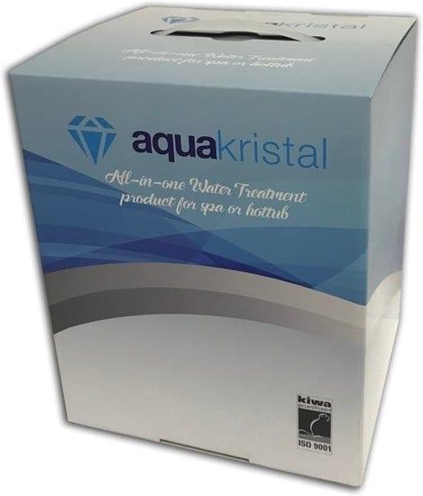 Aquakristel navulfles voor schoon en zacht water